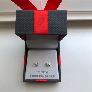 JCPenny 1/6 Carat Diamond Stud Earrings